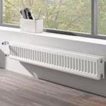 Низкие радиаторы отопления