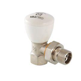 Valtec VT.007.N Кран радіаторний регулювальний (кутовий), Вид підключення: Кутовий, Тип клапана: Ручной клапан, Розмір: 1/2