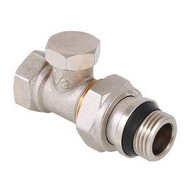 Valtec VT.020.NR Клапан настроювальний прямий з додатковим ущільненням, Вид підключення: Прямий, Властивість: На обратку, Розмір: 1/2