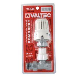Valtec VT.048.N Термостатичний комплект для підключення радіатора, Вид підключення: Прямий