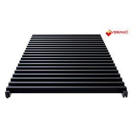 Verano решетка для внутрипольного конвектора (Черный)