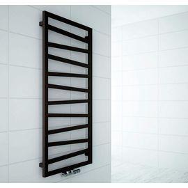 Terma ZigZag | Водяной полотенцесушитель (Черный), Вид подключения: Водяное, Цвет: Черный, Высота: 600, Длина: 500