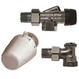 Комплект радиаторный с термоголовкой Honeywell VTL320AA15 (Осевой), Вид подключения: Осевой, Резьба: M30x1.5, Модификация: С Термоголовкой