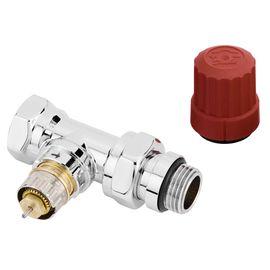 Термостатический клапан Danfoss RA-NCX Хромированный | 013G4238, Вид подключения: Прямой, Модификация: На подачу