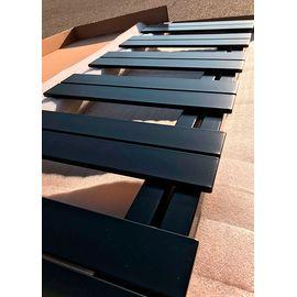 Betatherm HZ | Водяной полотенцесушитель (Черный), Вид подключения: Водяное, Цвет: Черный, Высота: 835, Длина: 500