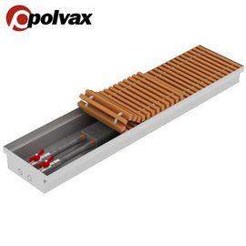 Polvax KE | Внутрішньопідлоговий конвектор (природна конвекція), Модель: KE, Ширина: 230, Довжина: 1000, Глибина: 55