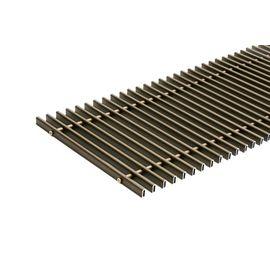 Kermi решітка для внутрішньопідлогового конвектора, Ширина: 185, Довжина: 1000, Матеріал: Алюміній