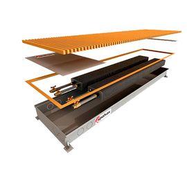 Polvax KEM | Внутрішньопідлоговий конвектор (природна конвекція), Модель: KEM, Ширина: 300, Довжина: 1000, Глибина: 65